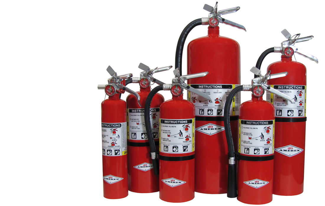 Amerex Hand-held Fire Extinguishers